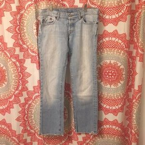 Lucky Brand Jeans 4 27 Cropped Capris Lil Maggie